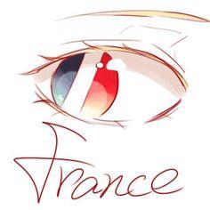 Hetalia (ヘタリア) - France (フランス) -「国旗の目」/「吕子明渡江时竟」の漫画 [pixiv]