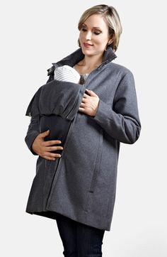 0d7d70179c9 Modern Eternity A-Line Convertible 3-in-1 Maternity Swing Coat