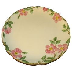 This huge round platter is in the desert Rose pattern by Gladding, McBean & Company's Franciscan line. The circle backstamp is the one used from This piece is in excellent condition with Valentine Heart, Valentine Day Gifts, Desert Rose Dishes, Dining Ware, Vintage Dishes, China Patterns, Vintage Valentines, Kitchen Living, Kitchen Accessories