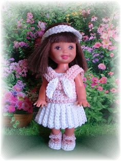 crochet patterns for kelly doll clothes - Google Search