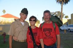 Family Day- MCRD October 2011 (My twin brother and parents) October 14, Twin Brothers, Family Day, Twins, Parents, Military, Fashion, Dads, Moda