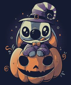 Halloween Wallpaper Cute, Cute Fall Wallpaper, Cute Patterns Wallpaper, Lilo Ve Stitch, Lilo And Stitch Quotes, Disney Stitch, Cartoon Wallpaper Iphone, Disney Phone Wallpaper, Cute Cartoon Wallpapers