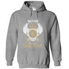 17 LIGHTFOOT Never T-Shirts, Hoodies (39.95$ ==► Order Shirts Now!)