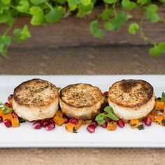 Hearts of Palm crab cakes by Rob Dalzell