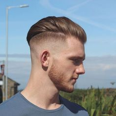 high and tight with long hair on top