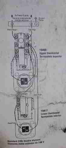 wiring diagram for electric water heater wiring diagram Thermostat Wiring Diagram