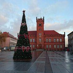 W tym roku i w latach najbliższych choinka w #Szczecinek wygląda tak.