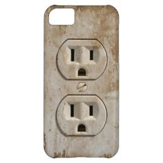 Get it: Electrical Outlet iPhone 5C Covers by GrooveMaster