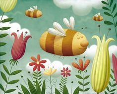 Piotr Socha Illustration Magazine Illustration, Childrens Books, Nature, Pattern, Bugs, Inspiration, Butterfly, Graphics, Inspired