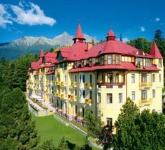 Didn't stay here, but I visited! Grand Hotel Praha in Tatranska Lominca, Slovakia Great Places, Places To See, High Tatras, Prague Czech Republic, Heart Of Europe, Life Is A Journey, Central Europe, Bratislava, New Travel