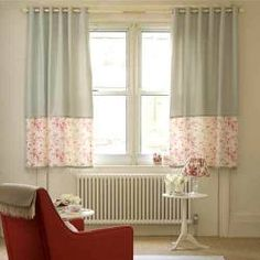 short curtains or long curtains? Short Curtains Bedroom, Short Window Curtains, Bedroom Windows, Cottage Curtains, Curtains Over Radiator, Curtains And Radiators, Window Sill Decor, Curtain Styles, Curtain Ideas