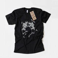 T-Shirt, Bon Matin, Skelette No. 4