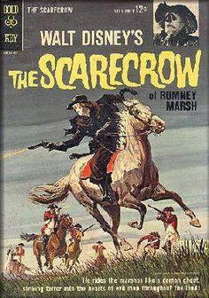 walt disney dr syn scarecrow of romney marsh Sci Fi Comics, Old Comics, Horror Comics, Vintage Comics, Cosmic Comics, Beau Film, Comic Book Covers, Comic Books Art, Book Art