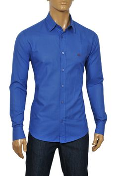 Mens Designer Clothes | GUCCI Men's Dress Shirt #267; $139.99