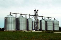 Grain storage in Adel, IA