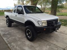 Selling my 1998 Toyota Tacoma, this truck starts an runs amazing, lots of aftermarket upgrades including alloy wheels, oversize tires, push bumper, 12,000lb winch, tinted window flares, Borja exhaust, cold air intake. The truck has a new timing belt an clutch in it and I have proof to show it. Air conditioner and heater  works perfect. This little truck turns heads an is fun to drive. Call or text with questions 8013807697 I will not respond to emails, priced to sell no low ballers