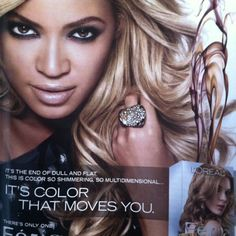 Beyonce hair color.