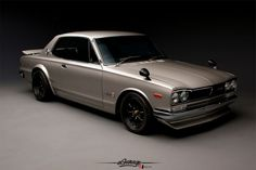 This is a Muscle Car from Japan.  Nissan Skyline GT-R