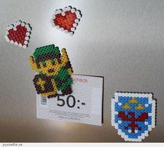 Legend of Zelda in Hama-beads.
