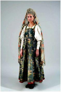 Русский костюм-север