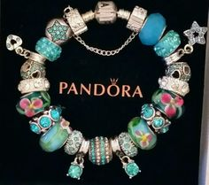 NEW Authentic PANDORA Sterling Silver BRACELET with European CHARMS & Beads #1 | Jewelry & Watches, Fashion Jewelry, Charms & Charm Bracelets | eBay!
