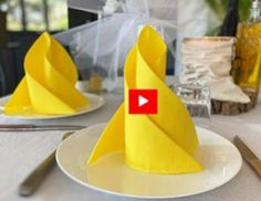 Paper Napkin Folding, Paper Napkins, Paper Crafts, Diy Crafts, Christmas Decorations, Table Decorations, Deco Table, Household, Projects To Try