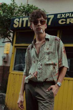 fashion Male Fashion Trends: The Portrait Series: Diego Carrizalez por Jasa Melendez Fashion Male, 80s Fashion Men, Fashion Trends, Fashion Blogs, Vintage Fashion Men, Fashion Outfits, Korean Fashion, Best Mens Fashion, Vintage Men