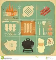 Resultado de imagem para barbecue illustration