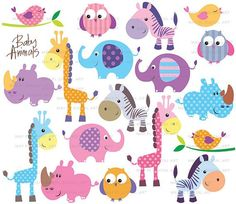 Free download Cute Animals Free Clipart for your creation.