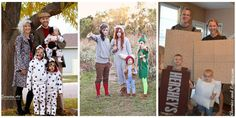 30 Best Family Halloween Costumes 2016 - Cute Ideas for Themed Costumes for Families Football Halloween Costume, Family Themed Halloween Costumes, Cute Costumes, Family Halloween Costumes, Halloween Snacks, Halloween 2017, Halloween Themes, Halloween Crafts, Halloween Party
