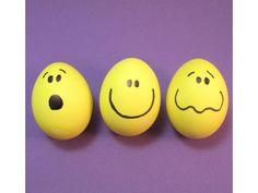 happy face eggs