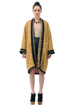Erin Ethnic Tribal Coat