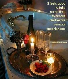 Deliberate pleasure for your senses. welcomed.com