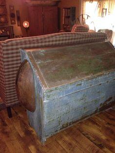 Early blue grain box