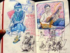 Sketchbook Layout, Arte Sketchbook, Sketchbook Pages, Art Journal Pages, Kunstjournal Inspiration, Sketchbook Inspiration, Art And Illustration, Art Illustrations, You Draw