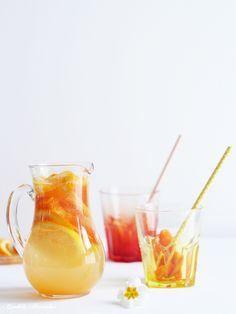 Limonade aux agrumes ♥ citrus lemonade