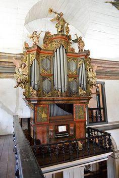Órgão de Mariana, Minas Gerais - foto recebida de Elisa Freixo