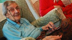 Give the tablet to an elder, with an app already open. And don't complicate with jargon.