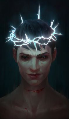 """""""I wear this crown of thorns"""" By Eneada Arkane Studios, Dishonored 2, Crown Of Thorns, Rage Comics, Fantasy Characters, Fictional Characters, All The Things Meme, Image Macro, Alien Logo"""