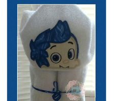 Bubble Guppie Gil Hooded Towel for Bath or Pool