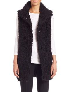 Theory Hope Fur Vest For Sale Buy Authentic Online FsJNbs