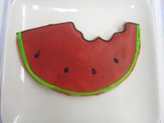 Watermelon Slice by Flour & Sun, via Flickr