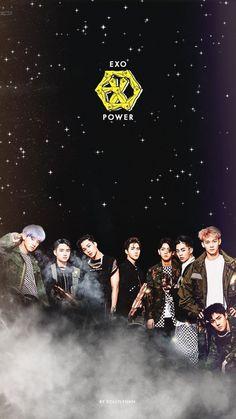 The Power Of Music wallpaper~ K Pop, Tao Exo, Chanyeol Baekhyun, Park Chanyeol, Kdrama, Kpop Backgrounds, Exo Group, Exo Album, Exo Concert