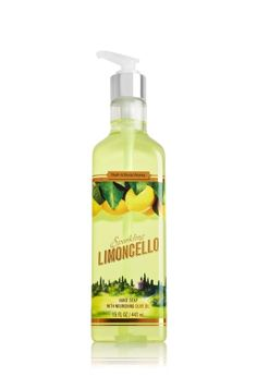 Sparkling Limoncello Luxury Hand Soap - Soap/Sanitizer - Bath & Body Works | Hostess gift idea for the G's