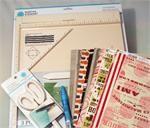Martha Stewart : Scoring Board Bundle - Scoring Board, Fringe Scissors, Glue & Paper