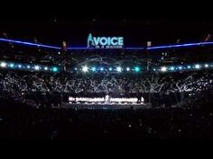 ▶ 7,500 children perform Sweet Child of Mine- Voice in a Million-Live at the O2.mov - YouTube