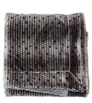Essenza Home Fake Fur bontplaid Cos dark grey