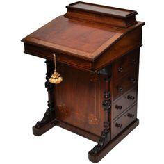 English Davenport Desk, Circa 1840 | 1stdibs.com