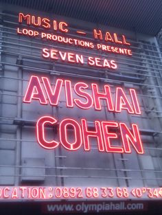 "excellent show last april at the olympia in paris. avishai presents ""seven seas"", his latest ep. the concert was amazing. absolutely fantastic and memorable performance by young drummer amir bresler."