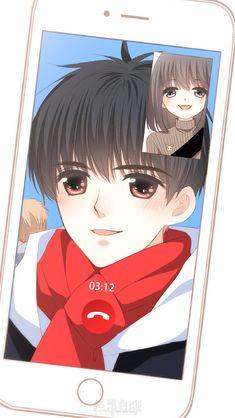 Love Never Fails Cute Couple Cartoon, Cute Couple Art, Cute Love Cartoons, Anime Love Couple, Anime Couples Drawings, Anime Couples Manga, Cute Anime Couples, Couple Wallpaper, Love Wallpaper